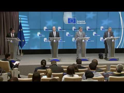 Klaus Regling At Eurogroup Press Conference 22 January 2018