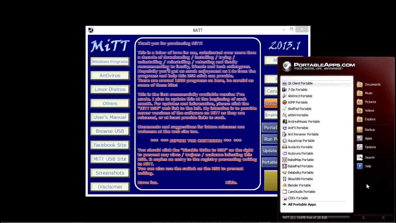 MiTT - Mikies IT Toolbox - Multiboot USB Pen Drive for Tech Professionals  Pt 2 mp4