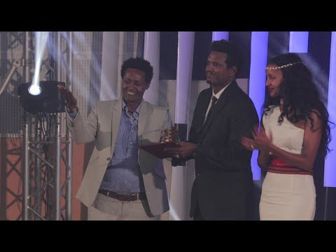 Best Director Of 2010 In Oda Award Prize By Artist Tsegaye Dandena
