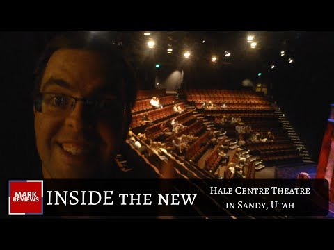 INSIDE the NEW Jewel Box Theater Hale Centre Theatre in Sandy, Utah!
