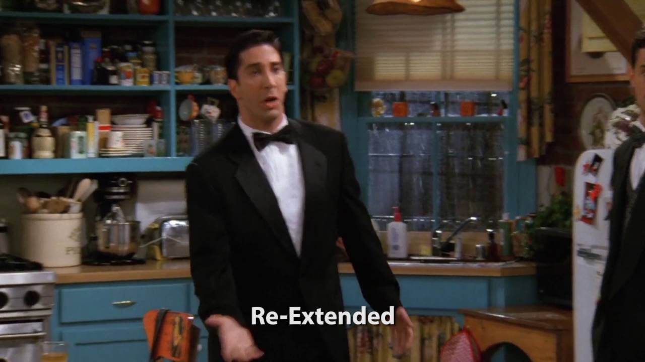 Re-Extended 'Friends' (Blu-Ray vs DVD vs Re-Extended comparison)
