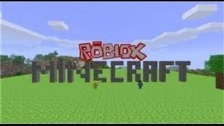 roblox minecraft game