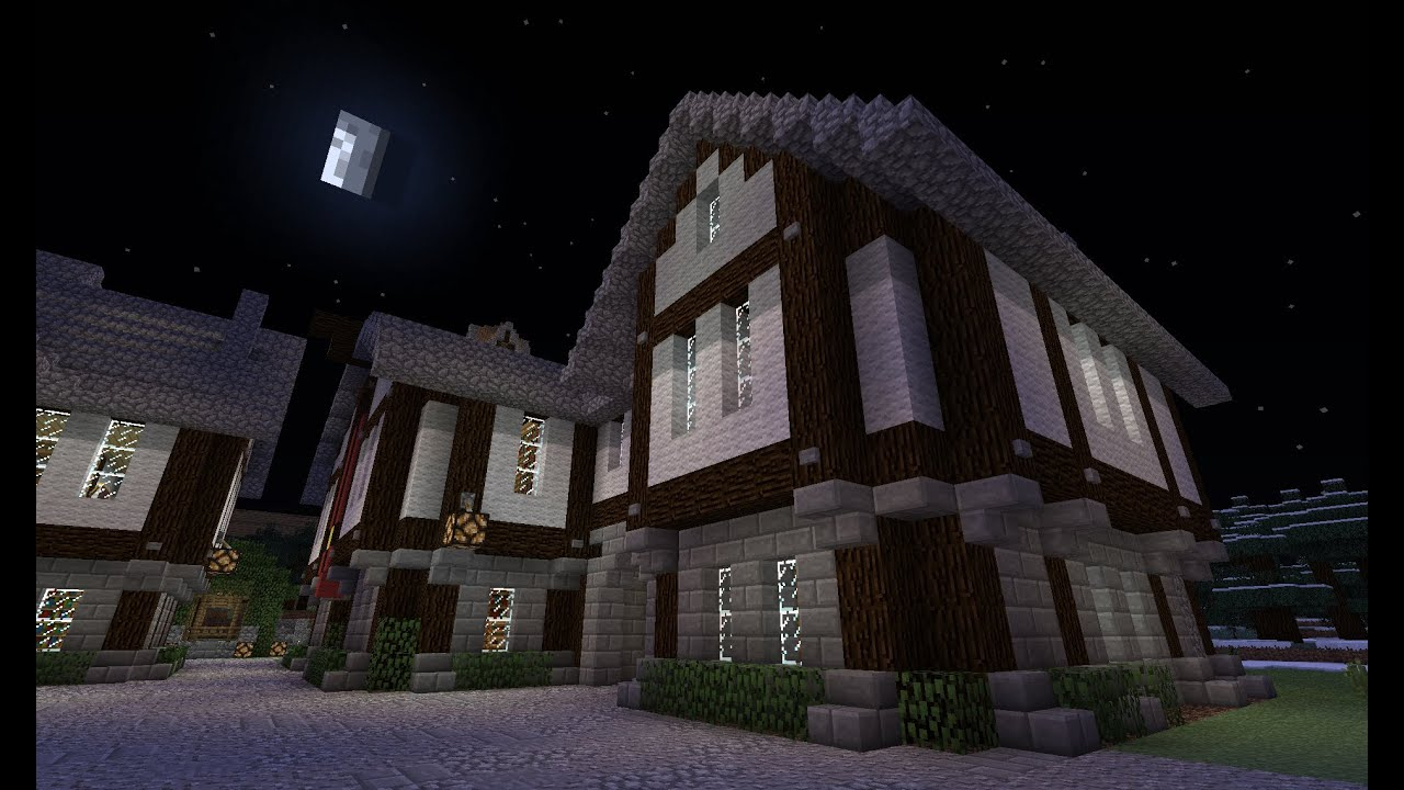 Normales haus in minecraft bauen tutorial youtube for Minecraft haus bauen