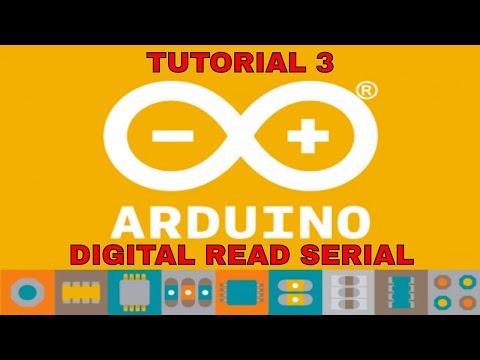 Arduino Tutorial - Digital Read Serial