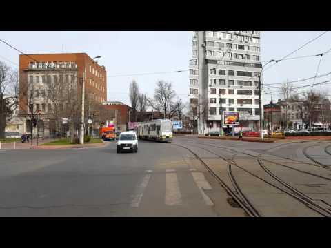 Tramvai RATB V3A-93 Epc pe linia 23 la Posta Vitan
