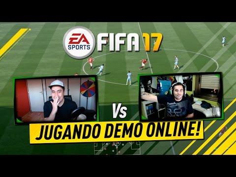 JUGANDO DEMO FIFA 17 ONLINE!!!!! Vs PUMUSCOR! GAMEPLAY FIFA 17 DEMO - SHARE PLAY FIFA17