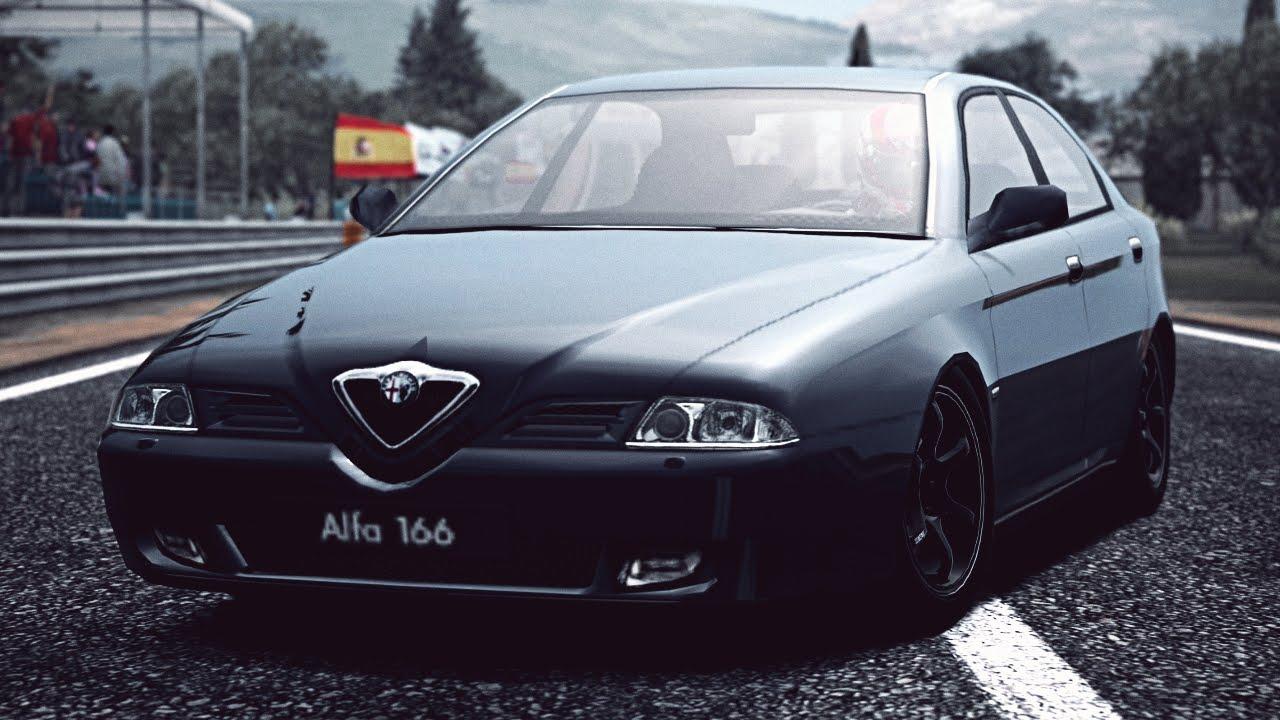 gt6) alfa romeo 166 2.5 v6 24v sportronic '98 - exhaust comparison