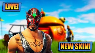 NEW WRESTLER SKIN IN FORTNITE // FORTNITE LIVE // PLAYING WITH SUBS