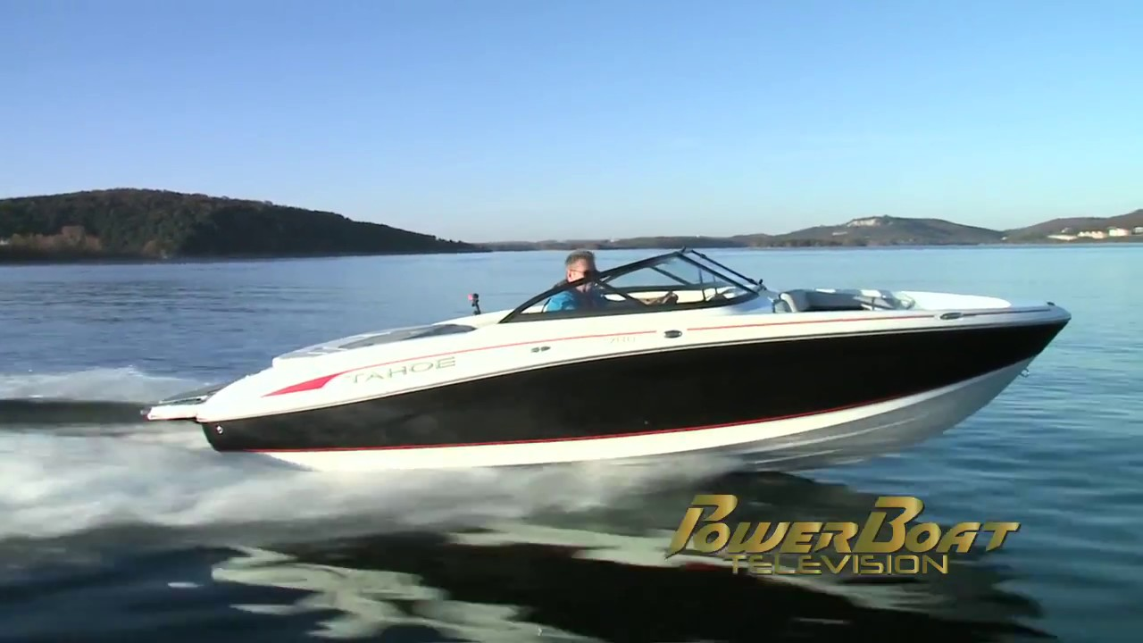 Tahoe Boats 2018 700 Runabout Full Review By Boat Television