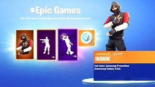 Get FREE Skin in SEASON X (Ikonik Skin) Fortnite Season X English