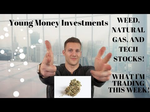 Marijuana, Natural Gas, And Tech Companies! I The Best Trades I See This Week!