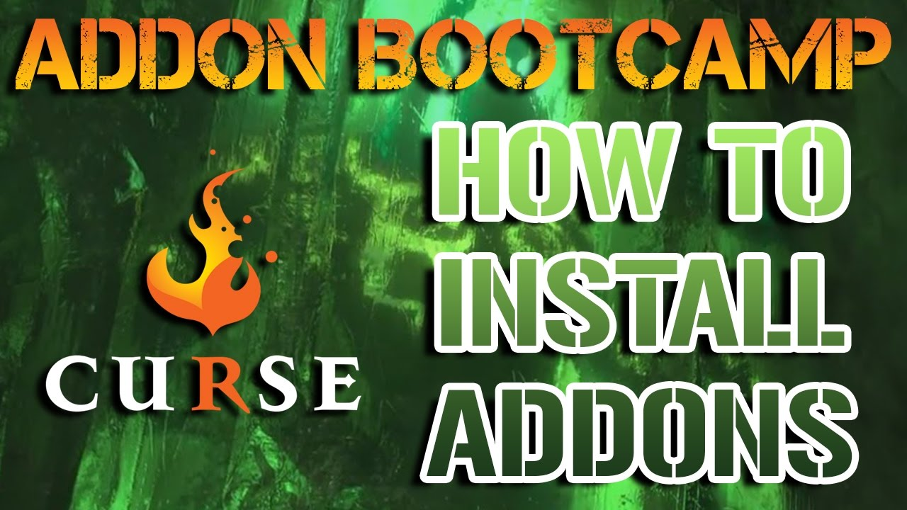 how to install add on on wow