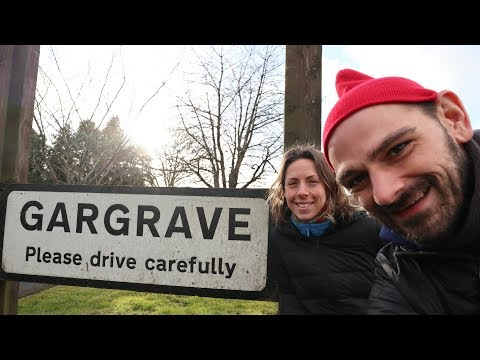 A Walk Through an English Village | Gargrave, Yorkshire