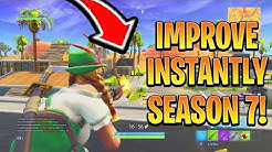 How to Play BETTER in SEASON 7! How To Win Fortnite Battle Royale! (Console Ps4/Xbox Tips)