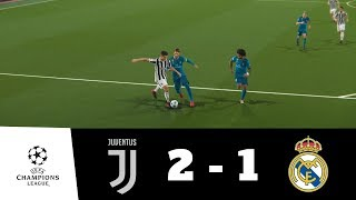 Juventus vs Real Madrid All Goals & Extended Highlights 1080p HD | UEFA CL | PES 2018