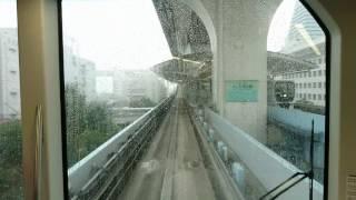 Download Video Shimbashi to Odaiba on Yurikamome automatic train MP3 3GP MP4