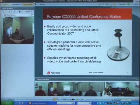 Polycom CX5000 Unified Video Conferencing Station for Microsoft ...