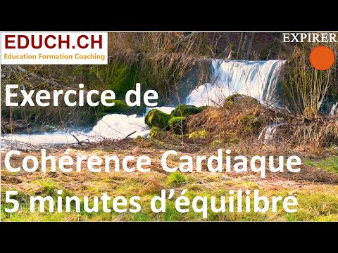 Coherence cardiaque coach Exercice Chute d'eau Formation Coaching Educh.ch