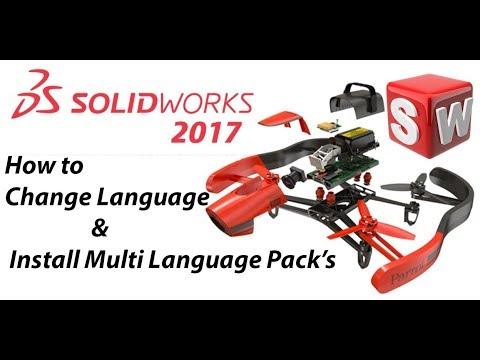 solidworks sprachpaket