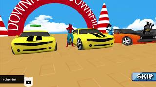 Superhero Color Cars (Supercity sim) (iOS/Android) | HD Gameplay Trailer