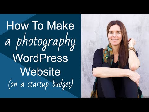 How To Make A WordPress Website (for Photography & Portfolios)