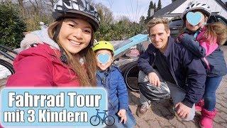 Überraschung für Clara 😍 Fahrradtour mit 3 Kindern | H&M Haul | Mama VLOG | Mamiseelen