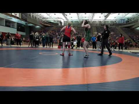2016 Dino Invitational: 63 kg Final Taylor Cartwright vs. Cholena Horne
