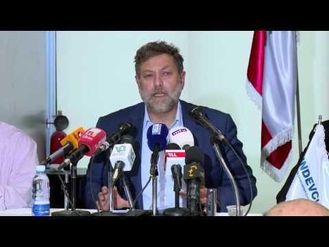 Neemat Frem-Press Confrence-Municipal Solid Waste Bid in Lebanon-2015-08-25