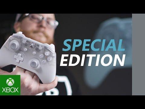 Распаковка нового геймпада Xbox - Phantom White Special Edition