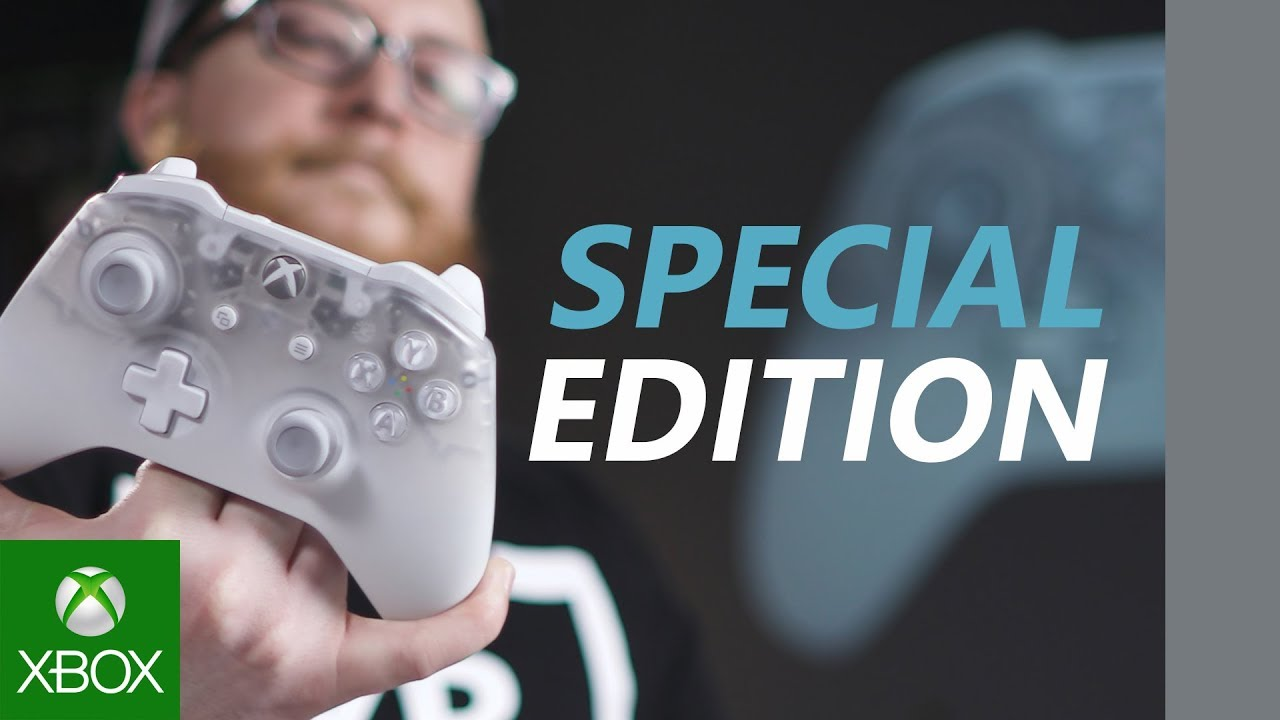 Unboxing Xbox Phantom White Special Edition Wireless Controller