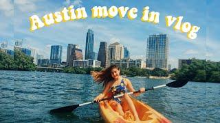 UT Austin move in Vlog // College series