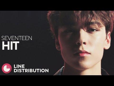 SEVENTEEN — HIT   Line Distribution