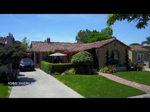 1085 Merle Avenue - Willow Glen - San Jose CA 95125 by Douglas Thron drone real estate videos tours