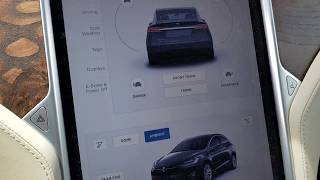 Tesla MODEL X How to open the Trunk or Hood or TRUNKS?