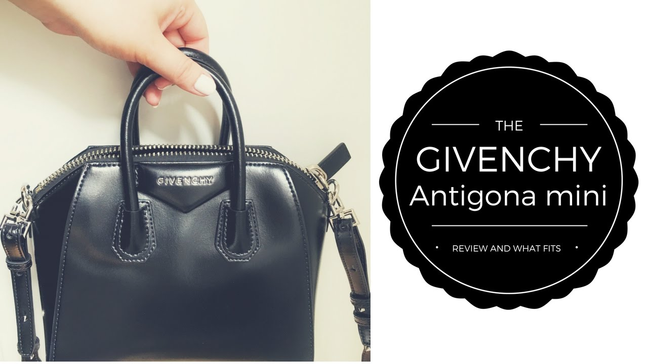 74d44d6f6960 GIVENCHY ANTIGONA MINI   REVIEW AND WHAT S IN MY BAG - YouTube