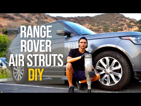 DIY: Air Strut Replacement on Range Rover L405 and Sport L494 2013-2021 (Complete Guide)