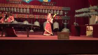 Traditional Music at Han Dynasty (206BC to 220AD) Tomb in Xuzhou China