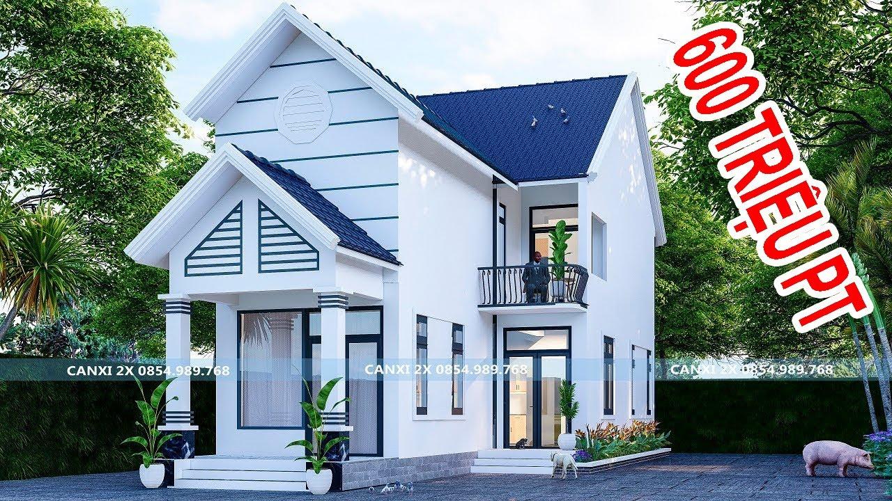 Nhà mái thái gác lững 3 phòng ngủ đẹp nhất miền nam giá rẻ đang được nhiều người xây dựng