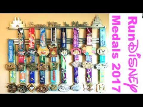 RunDisney Medals Updated Medal Collection 2017