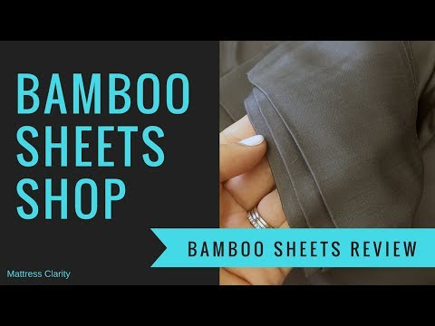 Bamboo Sheets Shop - Luxury Bamboo Sheets Review