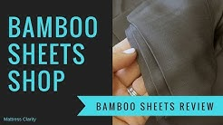 Bamboo Sheets Shop - Luxury Bamboo Sheets Review