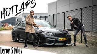 VLAMMEN UIT DE UITLAAT?! | HOT LAPS met DJ Leroy Styles | BMW M2
