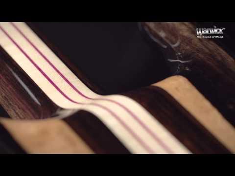 Warwick Custom Shop Basses: Streamer Stage II - Tigerstripe Ebony