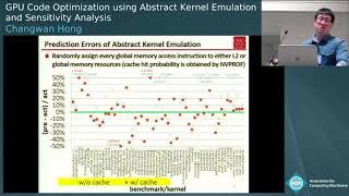 GPU Code Optimization using Abstract Kernel Emulation and Sensitivity Analysis