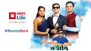 Prepare your family to #BounceBack with HDFC Life.