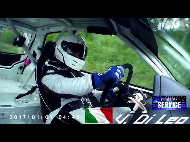 Vito Di Leo// Peugeot 106 RS1600// 24^ Cronoscalata Luzzi - Sambucina 2019