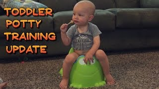 Toddler Potty Training Update