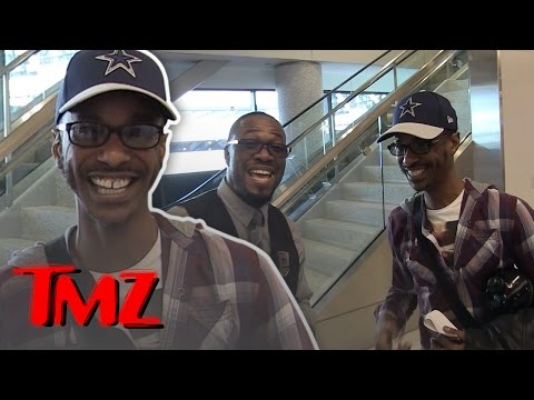 Tevin Campbell Impressed By LAX Workers Singing Skills! | TMZ