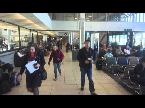 Walking Around Inside Calgary International Airport