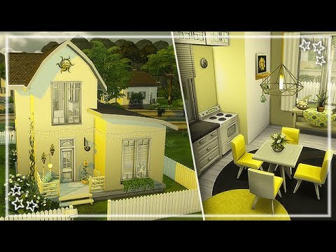 The Sims 4 Sd Build Nocc Yellow House